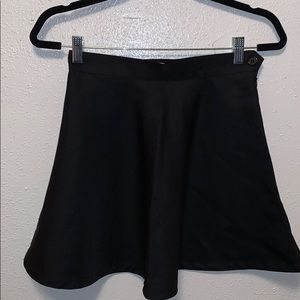 American apparel black circle skirt